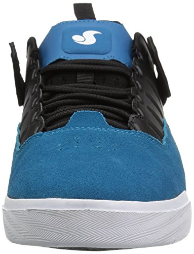 Dvs Mens Drop Scarpa Da Skate Teal In Camoscio Nero
