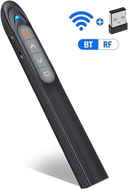Tiny Power point Presentation Remote 2.4G RF PPT Presenter Laser Pointer Clicker