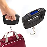 Home kitchen Scale Travel Luggage Scale Home Electronic Digital Portable Hanging Weight Scale With LED display (with hook) …