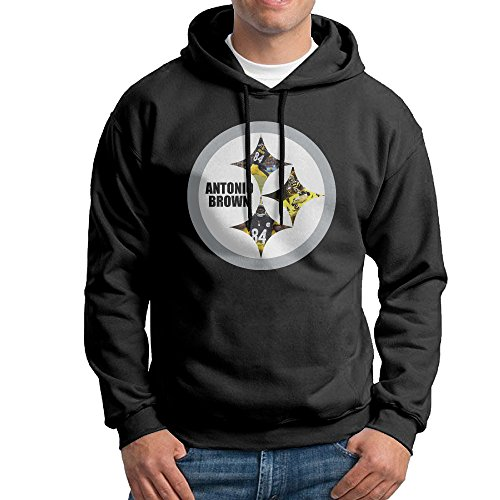 ROBERT 84 No.84 Logo Poster Mens Pullover Athletic Hoodie (Cole Costumes In Home)