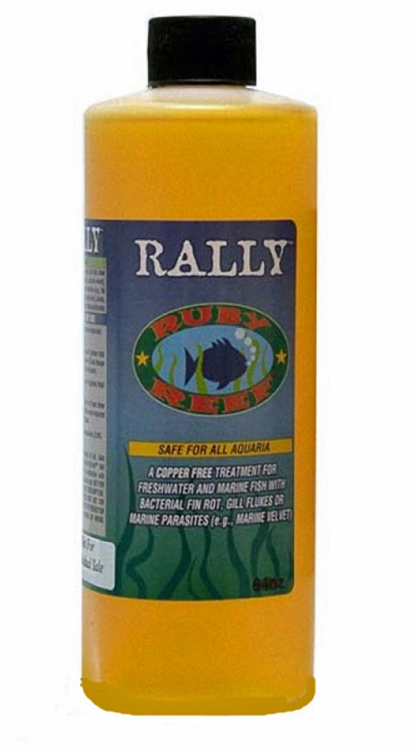 Ruby Reef ARR11136 Rally Aquarium Water Treatment, 16-Ounce