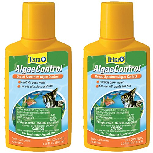 Tetra 77184 Algae Control, 3.38-Ounce, 100-ml (2-Pack)