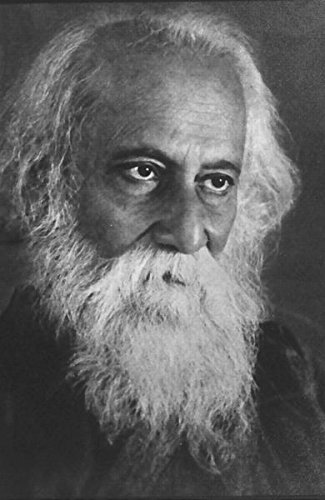 Portrait of Rabindranath Tagore photo reprint