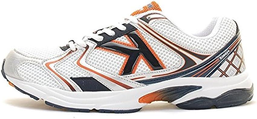 Kelme - Zapatillas de Running para Hombre Blanco Blanco ...