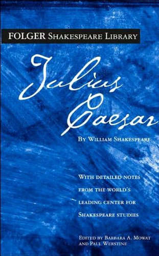 (THE TRAGEDY OF JULIUS CAESAR) BY SHAKESPEARE, WILLIAM(Author)Washington Square Press[Publisher]Mass Market Paperback{The Tragedy of Julius Caesar} on 23 Dec -2003