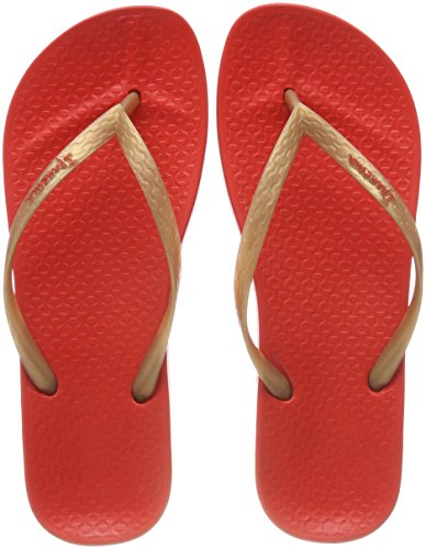 red Ipanema Para Mujer Anatomic Mehrfarbig Chanclas Fem Tan gold 4ABxq04