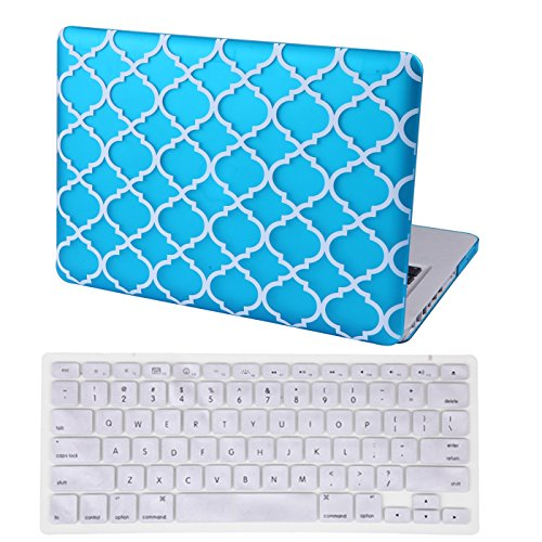 HDE MacBook Quatrefoil Keyboard Moroccan