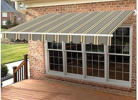 Taylor Made Retractable Awning 18W x 10L Ultima Burgundy Left ...