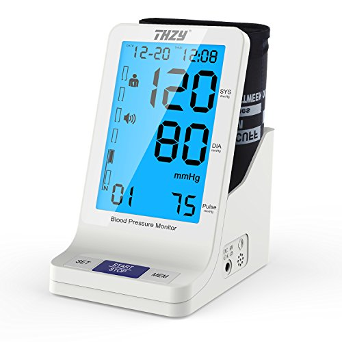 Blood Pressure & Heart Rate Monitor Automatic Digital Upper Arm Cu (Large Image)