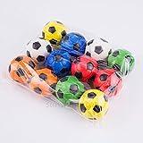 Ecurson 12pc Pressure Fast Rebound Stress Reliever Ball Fun Relieve Stress Cure Toy (A)