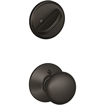 Schlage F59 Ply 622 Plymouth Interior Knob With Deadbolt