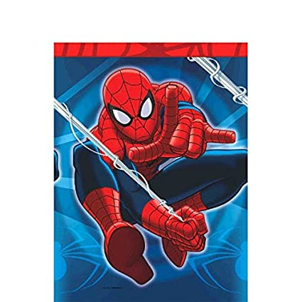 Amazon.com: Amscan International – Funda para mesa spidey ...