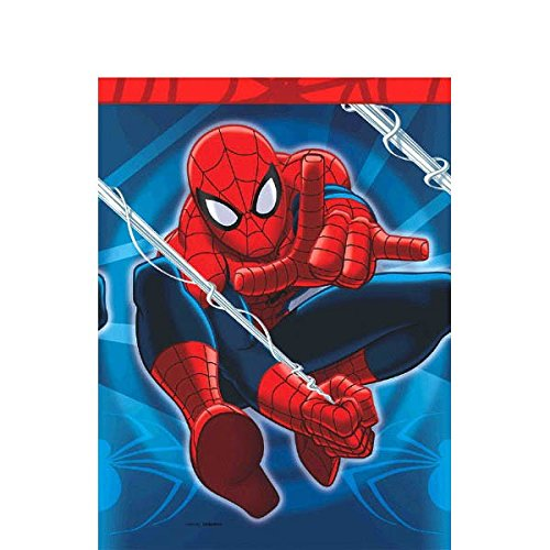 Spider Man Party Table Cover (Amscan Spidey-Cool Spider-Man Birthday Party Table Cover, 54