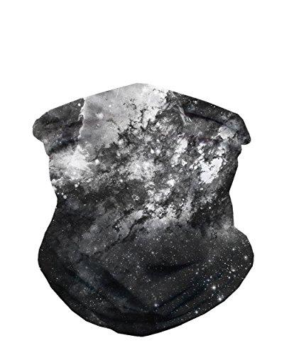 Bandana Mask - INTO THE AM Space Minimalist Seamless Mask Bandana