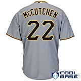 Andrew McCutchen Pittsburgh Pirates Gray Toddler Cool Base Road Jersey