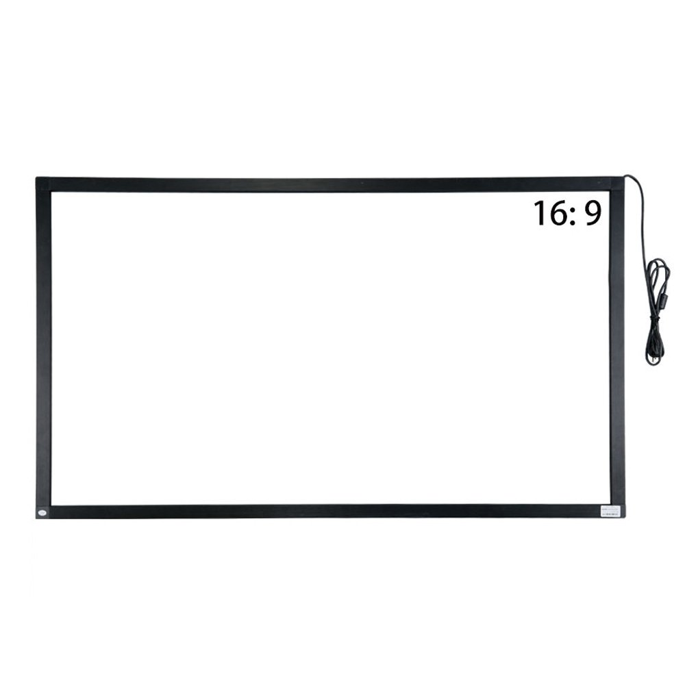 55 inch 10 points IR touch frame infrared touch screen without glass usb interface free-drive for lcd monitor