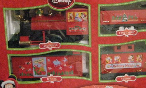 amazoncom disney battery operated christmas train set toys games