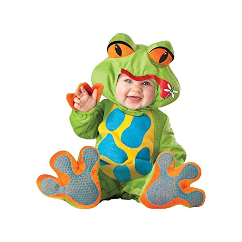 Lil Froggy Costume Green - Infant Small (6-12Months) ()