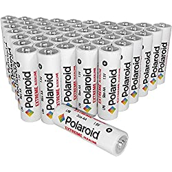 Polaroid AA Batteries Extreme Alkaline (48 Pack)