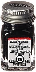 Testors Enamel Paint Open Stock .25oz-Black Flat by Testors