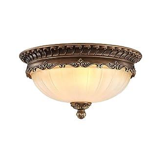Beautiful KJLARS Retro Rund Deckenlampe Wohnzimmer Deckenleuchte Küche  Deckenbeleuchtung Schlafzimmer Vintage Leuchtmittel