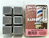 Barbershop - Scented All Natural Soy Wax Melts - 6 Cube Clamshell 3.2oz Highly Scented!