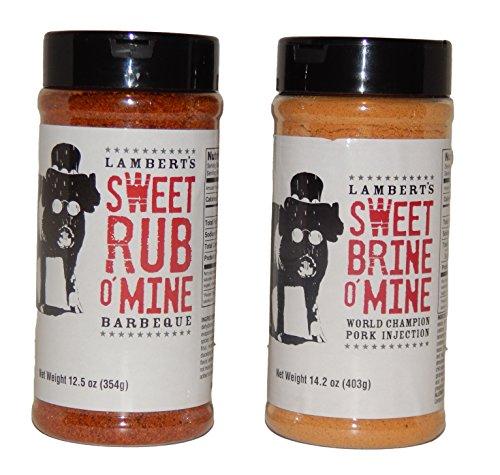 Sweet Rub O' Mine and Sweet Brine O' Mine Combo ()