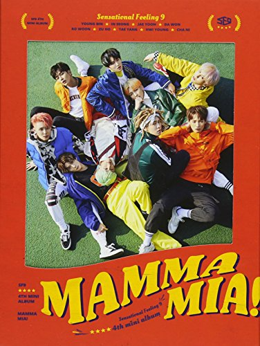 CD : Sf9 - Mama Mia (Asia - Import)