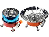 Lejoy Portable Windproof Camping Stove Mini Collapsible...