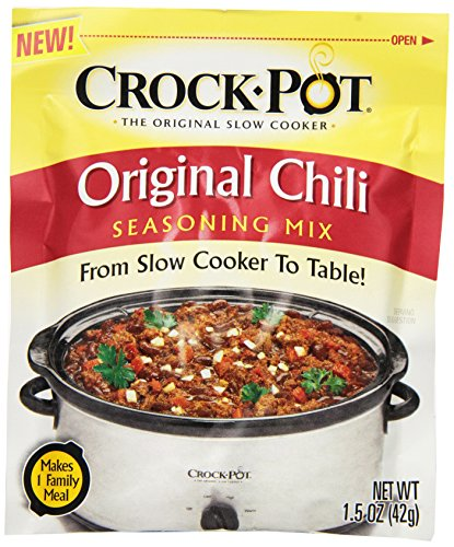 Crock Pot Seasoning Mix, Original Chili, 1.5 Ounce (Pack of 12) by Crock-Pot