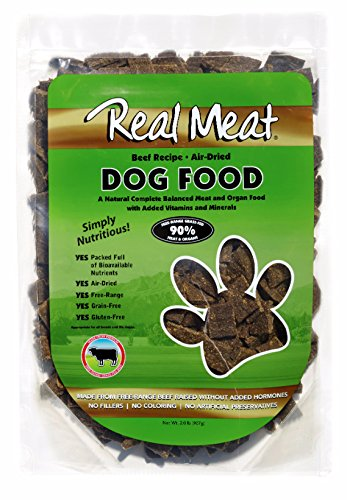 (Real Meat Air Dried Beef Pet Treat, 2 Lb)