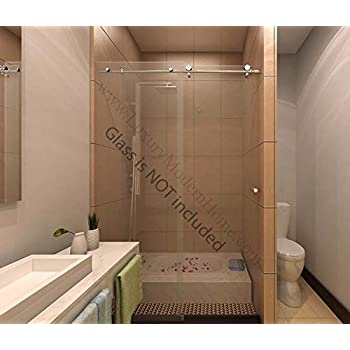 ssh COLOGNE - Modern Frameless Sliding Shower Bathtub Door ...