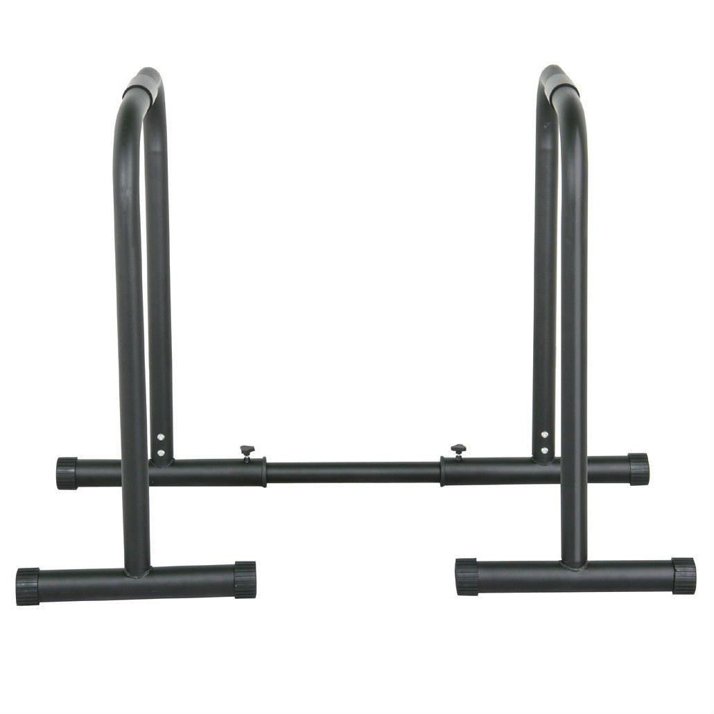 Heavy Duty Dip Station Pull Up Parallel Bars Body Balance Exercise Equalizer Bar