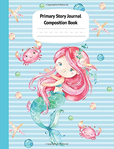 Mermaid Primary Story Journal Composition product image