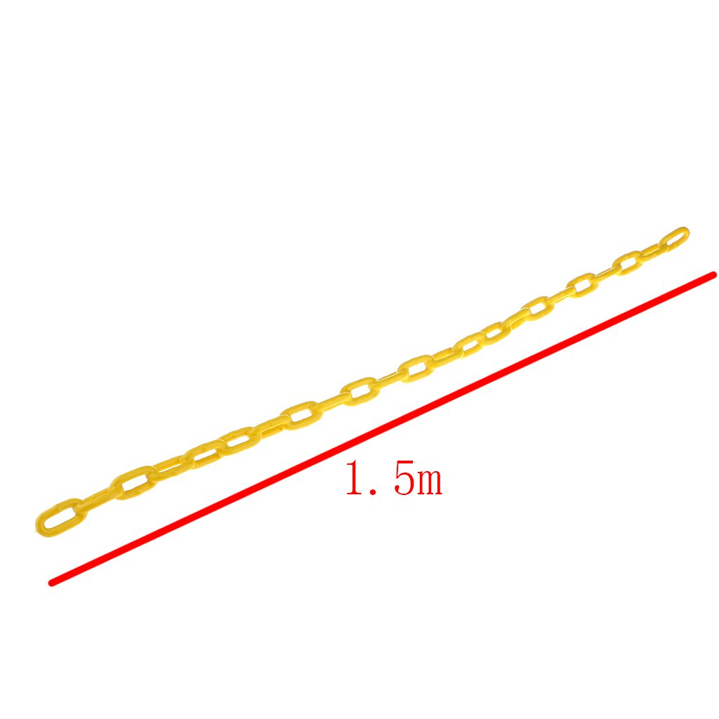 Length MagiDeal Durable Plastic Coated Iron Swing Chain 1.5 M Length Multicolor Green 1.5m