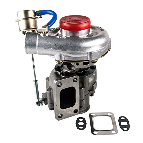 T04E T3/T4 .63 TURBO TURBOCHARGER COMPRESSOR 300+HP W/INTERNAL WASTEGATE - Internal T3 Wastegate