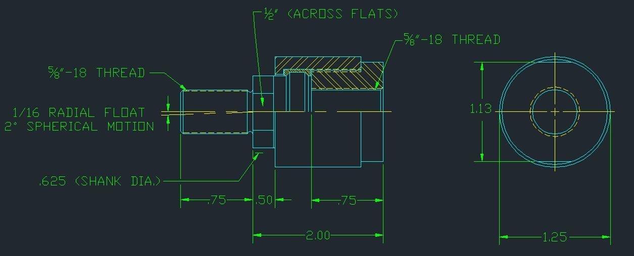 Aggressive Hydraulics BD-625F Alignment Coupler by Aggressive Hydraulics