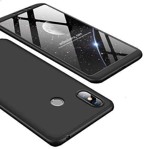 new products 4ded5 0f421 Amazon.com: Xiaomi Mi Max 3 Case, Ranyi [Full Body 3 Piece Cover ...