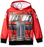 Transformers Boys Big Optimus Prime Costume Hoodie