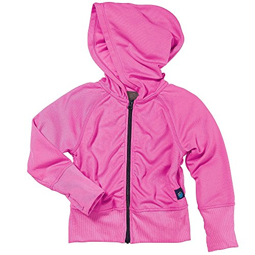 Toddler Girl Insect Repelling Pink Hooded Jacket by Bug Smarties, Size 3T ()