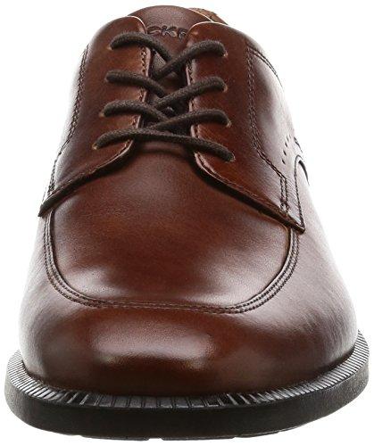 Scarpe Modern Brown new Toe France Dp Apron Marrone Stringate Roackport Uomo nvWX1Zxqqw