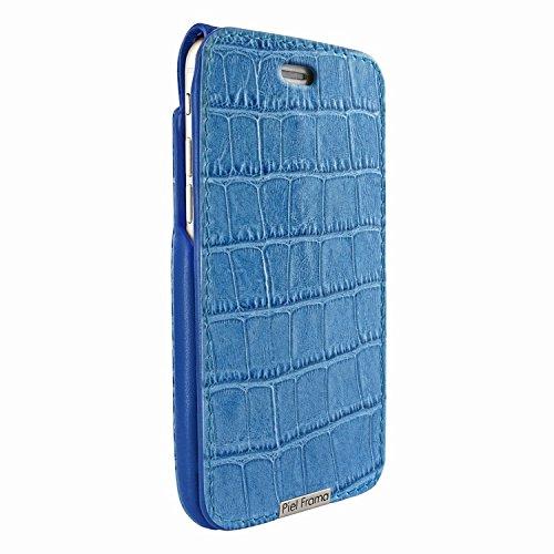 Piel Frama 770 Blue Crocodile UltraSliMagnum Leather Case for Apple iPhone 7 / 8 by Piel Frama