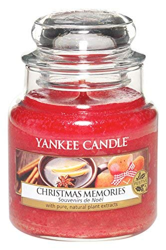 150 opinioni per Yankee Candle 1275315E Christmas Memories Candele In Giara Piccola, Vetro,