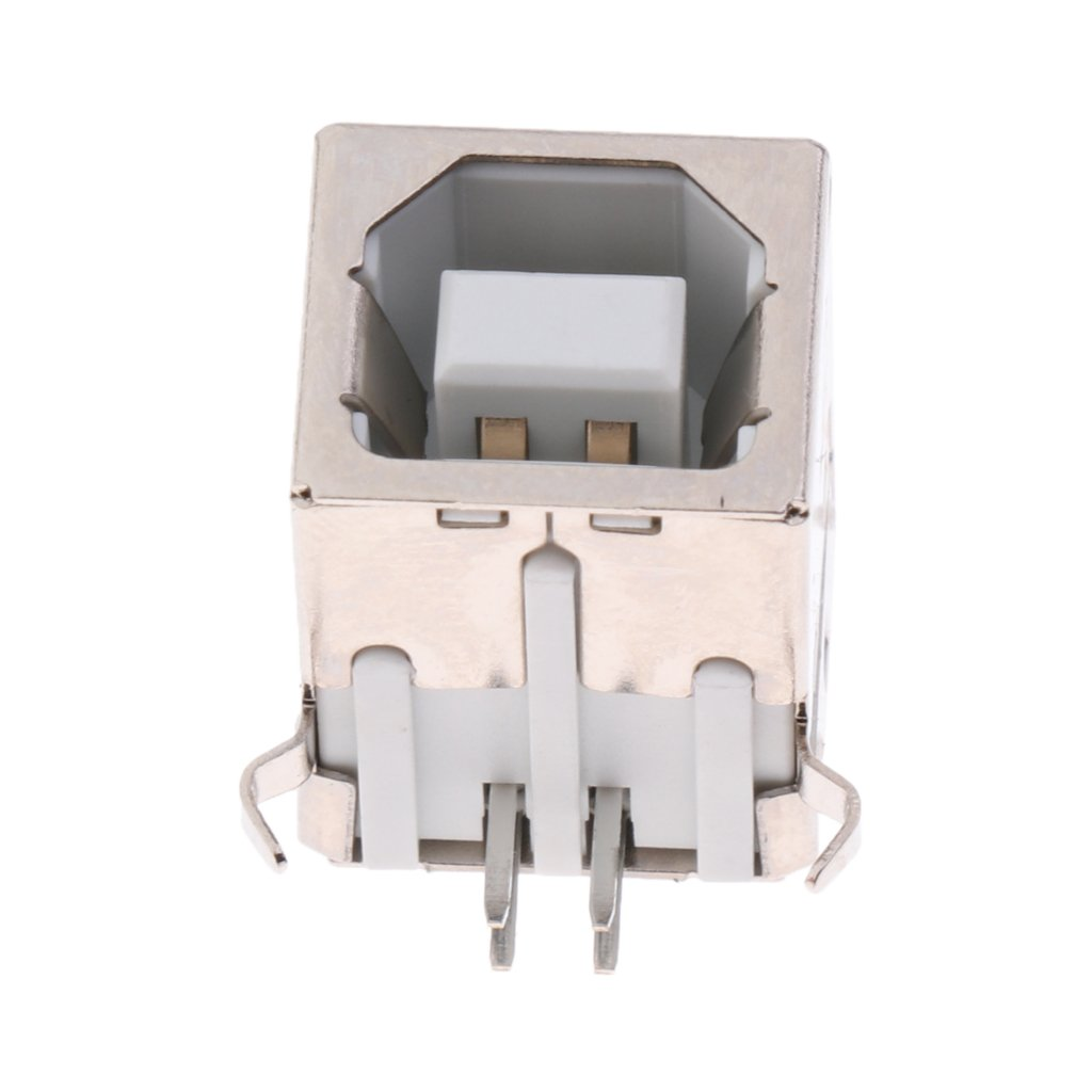 50Pcs Mini USB Type B Female SMT SMD Socket Jack Connector Port PCB Board