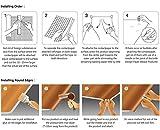 ROSEROSA Peel & Stick Solid Backsplash Wood