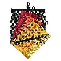 Bolsas de almacenamiento de malla Vaultz, colores y tamaños surtidos, 4 bolsas (VZ01211)