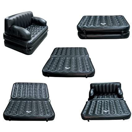 Excellent Goank 5 In 1 Air Sofa Cum Bed With Pump Lounge Couch Mattress Inflatable 3 Seater Gmtry Best Dining Table And Chair Ideas Images Gmtryco