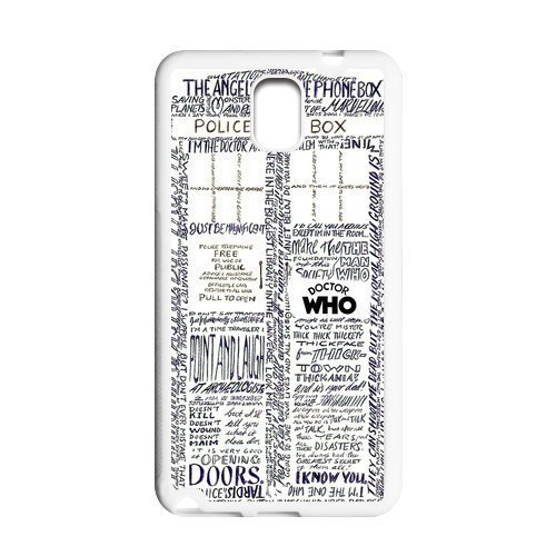 Artsy Doctor Who Samsung Galaxy Note 3 Case Cover TPU Tardis Police Call Box