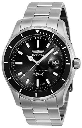 Invicta 25806 Pro Diver Reloj para Hombre acero inoxidable Cuarzo Esfera negro: Amazon.es: Relojes
