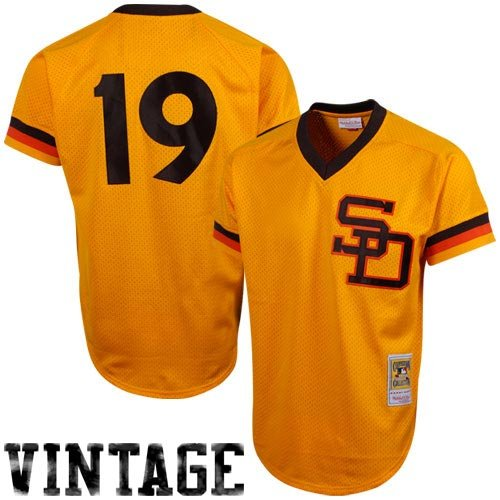 Mitchell & Ness Tony Gwynn San Diego Padres Authentic Mesh Batting Practice Jersey – DiZiSports Store